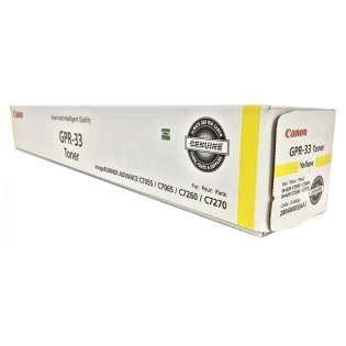 Original (Genuine OEM) Canon 2804B003AA (GPR-33) toner cartridge - yellow