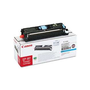Canon EP-87 Genuine Original (OEM) laser toner cartridge, 4000 pages, cyan