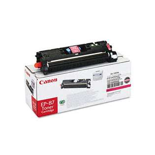 Canon EP-87 Genuine Original (OEM) laser toner cartridge, 4000 pages, magenta