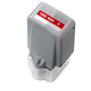 Compatible ink cartridge for Canon PFI-1000R - red