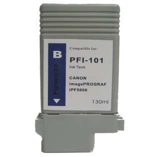 Compatible Canon PFI-101B ink cartridge, blue