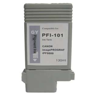 Compatible Canon PFI-101GY ink cartridge, gray