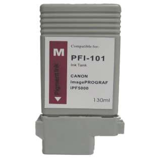 Compatible Canon PFI-101M ink cartridge, magenta