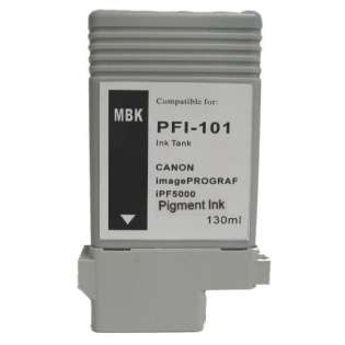 Compatible Canon PFI-101MBK ink cartridge, matte black