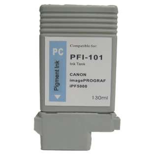 Compatible Canon PFI-101PC ink cartridge, photo cyan