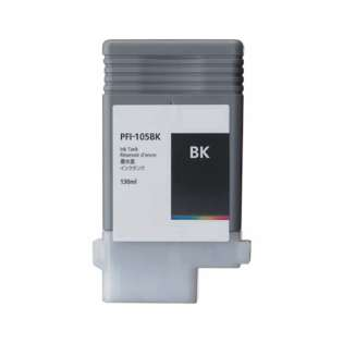 Replacement for Canon PFI-105BK - black