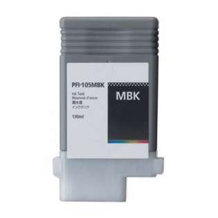 Replacement for Canon PFI-105MBK - matte black