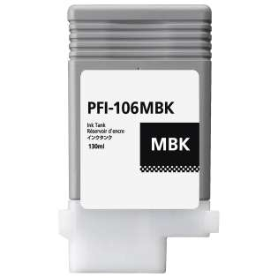 Replacement for Canon PFI-106MBK - matte black