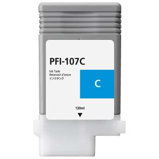 Replacement for Canon PFI-107C - cyan