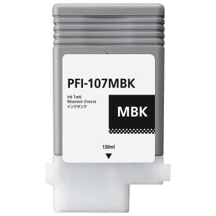 Replacement for Canon PFI-107MBK - matte black