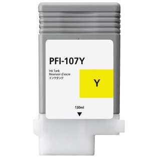 Replacement for Canon PFI-107Y - yellow