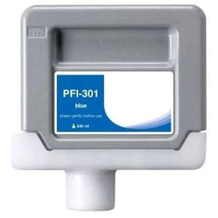 Compatible Canon PFI-301B ink cartridge, pigment blue