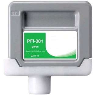 Compatible Canon PFI-301G ink cartridge, pigment green