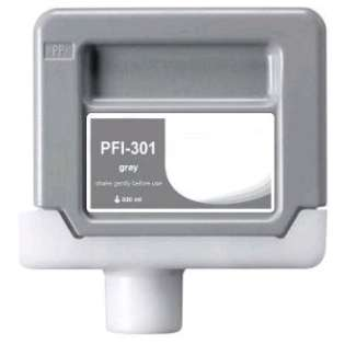 Compatible Canon PFI-301GY ink cartridge, pigment gray