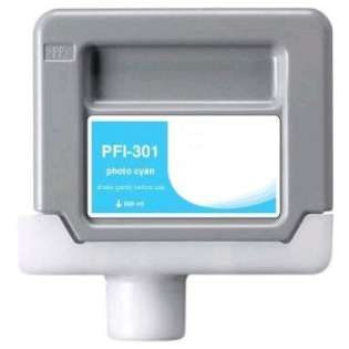Compatible Canon PFI-301PC ink cartridge, pigment photo cyan