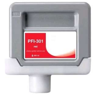 Compatible Canon PFI-301R ink cartridge, pigment red