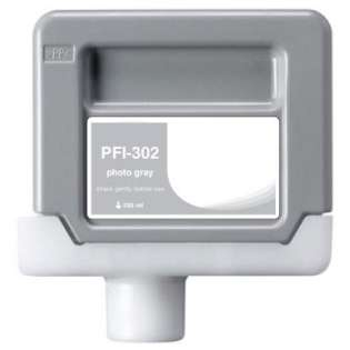 Compatible Canon PFI-302PGY ink cartridge, pigment photo gray