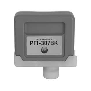 Compatible inkjet cartridge for Canon PFI-307BK - black