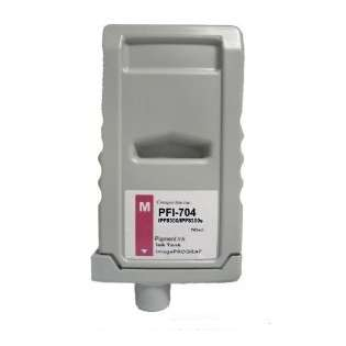 Compatible Canon PFI-704M ink cartridge, pigment magenta