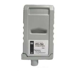 Compatible Canon PFI-704MBK ink cartridge, pigment matte black