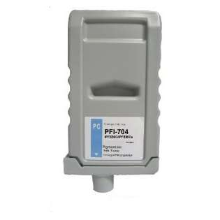 Compatible Canon PFI-704PC ink cartridge, pigment photo cyan