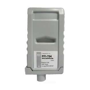 Compatible Canon PFI-704PGY ink cartridge, pigment photo gray