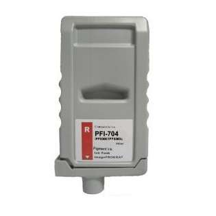 Compatible Canon PFI-704R ink cartridge, pigment red