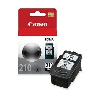 Canon PG-210 Genuine Original (OEM) ink cartridge, pigment black