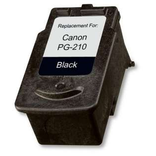 Remanufactured Canon PG-210 ink cartridge, pigment black