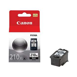 Canon PG-210XL Genuine Original (OEM) ink cartridge, high capacity yield, pigment black