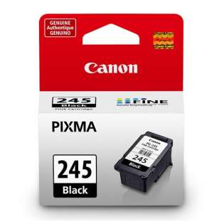 Canon PG-245 Genuine Original (OEM) ink cartridge, pigment black, 180 pages