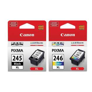 Original Canon PG-245XL / CL-246XL Multipack - 2 pack