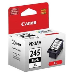 Canon PG-245XL Genuine Original (OEM) ink cartridge, high capacity yield, pigment black, 300 pages