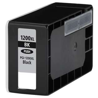 Compatible Canon PGI-1200BK XL ink cartridge, high capacity yield, pigment black, 1200 pages