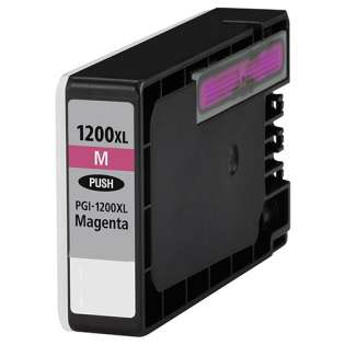 Compatible Canon PGI-1200M XL ink cartridge, high yield, pigment magenta, 900 pages