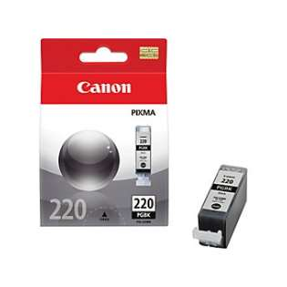 Canon PGI-220 Genuine Original (OEM) ink cartridge, pigment black