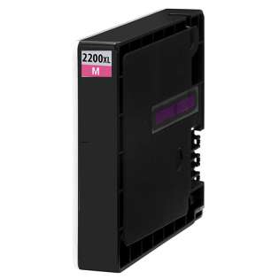 Compatible Canon PGI-2200M XL ink cartridge, high capacity yield, pigment magenta, 1500 pages