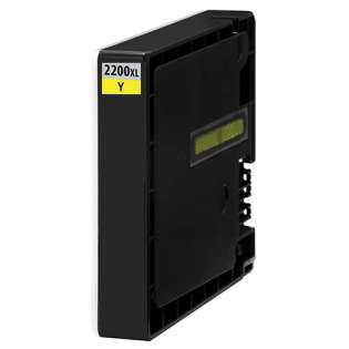 Compatible Canon PGI-2200Y XL ink cartridge, high capacity yield, pigment yellow, 1500 pages