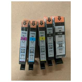 Original Canon PGI-280/CLI-281 Setup Cartridges - 5 pack
