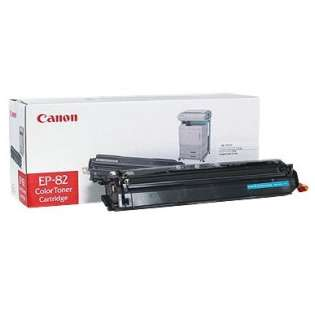 Canon EP-82 Genuine Original (OEM) laser toner cartridge, 8500 pages, cyan