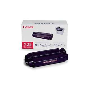 Canon X25 Genuine Original (OEM) laser toner cartridge, 2500 pages, black