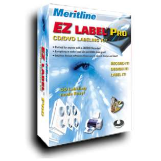 CD Labeling / DVD Labeling Kit (EZ LABEL PRO DVD labeling kit)