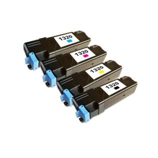 Remanufactured Dell 1320 toner cartridges (pack of 4)