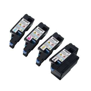 Remanufactured Dell 1250, 1350, 1355, C1760, C1765 toner cartridges (pack of 4)