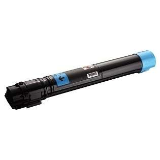 Remanufactured Dell 7130 toner cartridge, 11000 pages, cyan