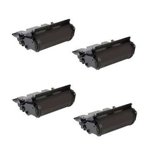 Remanufactured Dell 330-6990 (F361T) toner cartridges - black - (pack of 4)