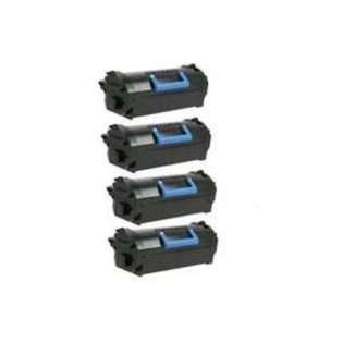 Remanufactured Dell 331-9797 (T6J1J) toner cartridges - black - (pack of 4)