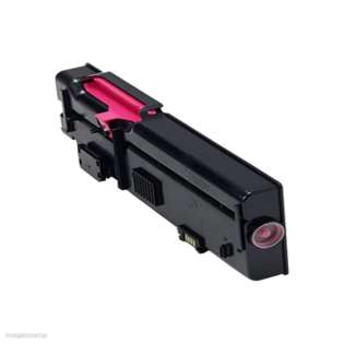Remanufactured Dell C2660, C2665 toner cartridge, 4000 pages, magenta
