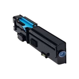Remanufactured Dell C2660, C2665 toner cartridge, 4000 pages, cyan