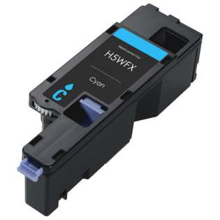 Remanufactured Dell 593-BBJU (H5WFX) toner cartridge - cyan